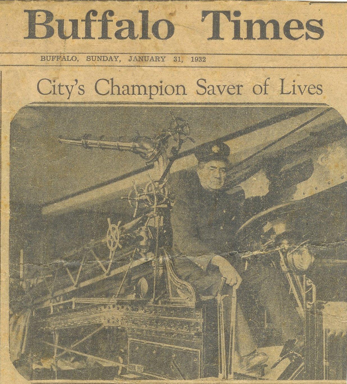 Archie Farrell, Buffalo News title photo